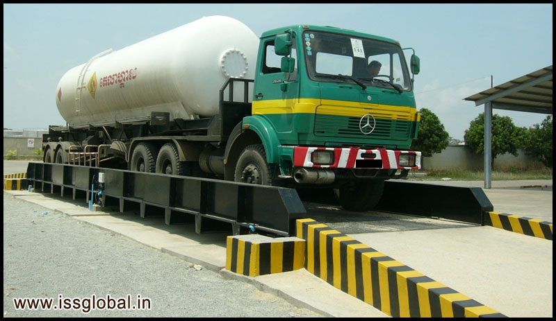Pitless Truck Weigh Scales Concrete Truck Weighing Scales